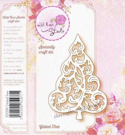 Gilded Tree Speciality Craft Die By Wild Rose Studio - SD059